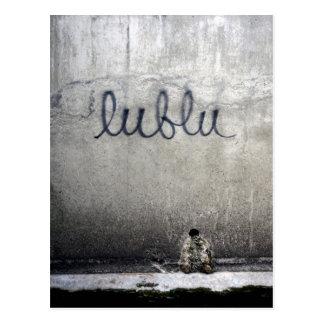 Lublu = Love in Russian Postcard