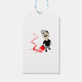 Lubrication finch pack of gift tags