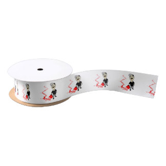 Lubrication finch satin ribbon