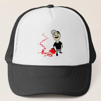Lubrication finch trucker hat
