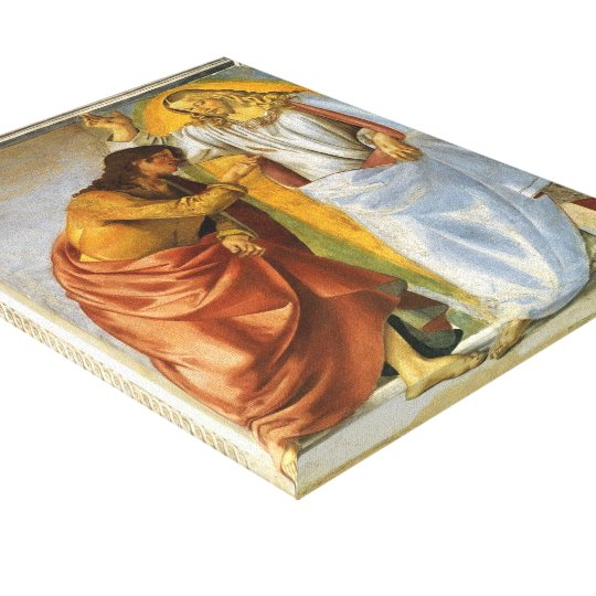 Luca Signorelli: Christ and the Doubting Thomas Canvas Print