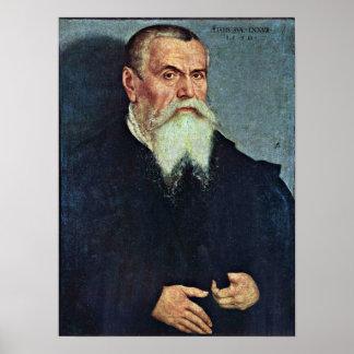Lucas Cranach (I) - Self-portrait in 77th Age Poster