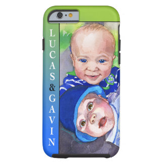 'Lucas&Gavin' Tough iPhone 6 Case