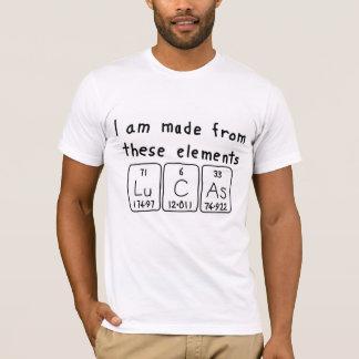 Lucas periodic table name shirt