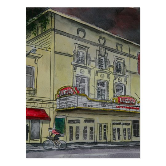 Lucas Theatre Savannah Georgia artists art Postcard