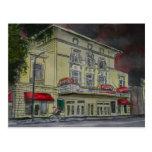 Lucas Theatre Savannah Georgia artists art Postcards