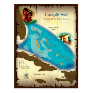 Lucayan Sea Postcard