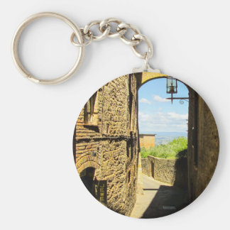 Lucca, Italy Photo Print Keychain