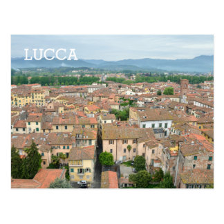 Lucca, Italy Postcard