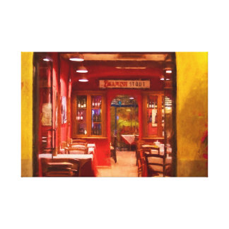 Lucca Restaurant Canvas Print