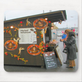 Lucerne - Buying hot chestnuts Mouse Pads