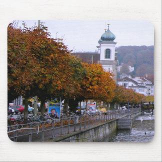 Lucerne - Colours of autumn Mousepad