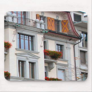 Lucerne - Houses in the old city Mouse Pads