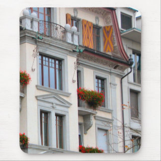 Lucerne - Houses in the old city Mouse Pad