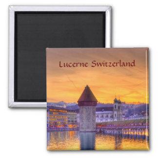 Lucerne (Luzern) Switzerland HDR Photography Magnet
