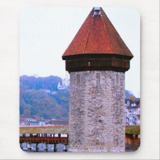 Lucerne - Mill tower Mouse Pad