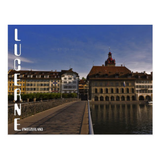 Lucerne old Town Switzerland Postcard