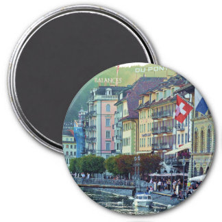 Lucerne Switzerland Fridge Magnet