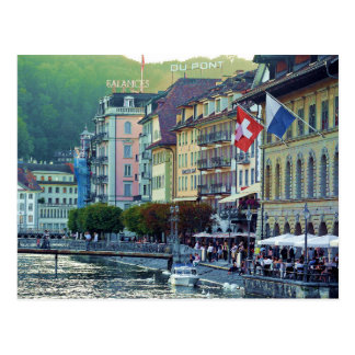 Lucerne Switzerland Post Card