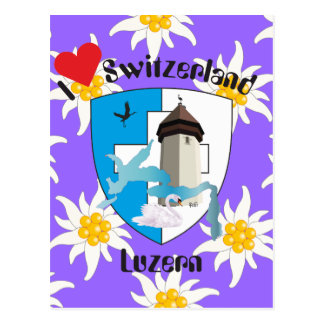 Lucerne Switzerland postcard