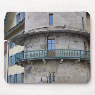 Lucerne - Water tower balcony Mouse Pad