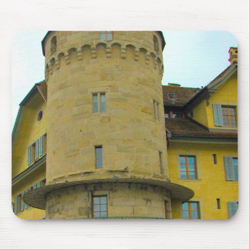 Lucerne - Water tower Mouse Pads