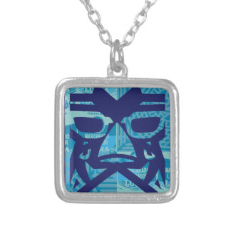 LUCHA LIBEY dos Silver Plated Necklace