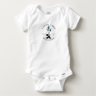 LUCHA LIBRE#26a Baby Onesie
