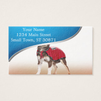 Lucha libre dog ,funny chihuahua,chihuahua business card