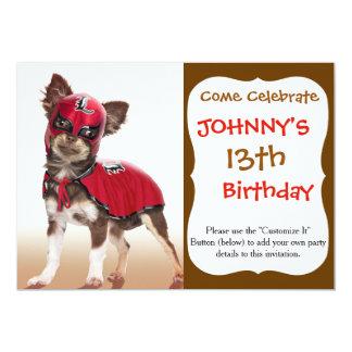 Lucha libre dog ,funny chihuahua,chihuahua card