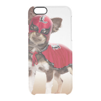 Lucha libre dog ,funny chihuahua,chihuahua clear iPhone 6/6S case