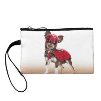 Lucha libre dog ,funny chihuahua,chihuahua coin purse
