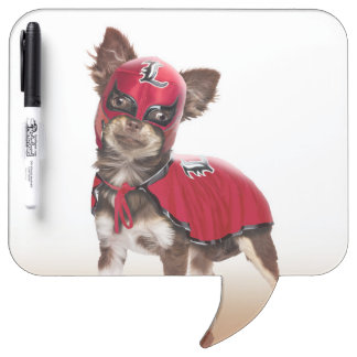 Lucha libre dog ,funny chihuahua,chihuahua dry erase board