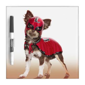 Lucha libre dog ,funny chihuahua,chihuahua Dry-Erase boards