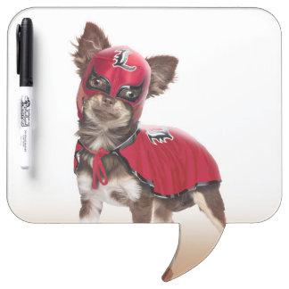 Lucha libre dog ,funny chihuahua,chihuahua Dry-Erase whiteboard