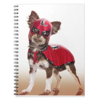 Lucha libre dog ,funny chihuahua,chihuahua notebook