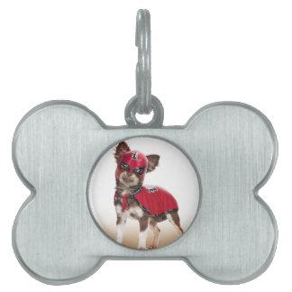 Lucha libre dog ,funny chihuahua,chihuahua pet ID tag