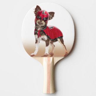 Lucha libre dog ,funny chihuahua,chihuahua ping pong paddle