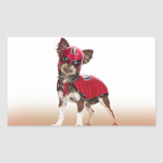 Lucha libre dog ,funny chihuahua,chihuahua sticker