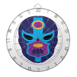 Lucha Libre Mask Dart Board