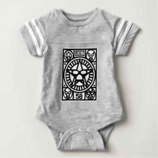 LUCHA MONO BABY BODYSUIT