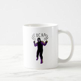 LUCHADOR#5 COFFEE MUG