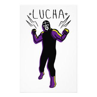 LUCHADOR#5 STATIONERY
