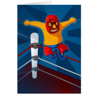 luchador card