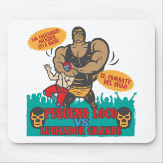 Luchador Noche Mouse Pad