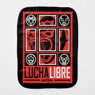 LUCHALIBRE MEXICO BURP CLOTH