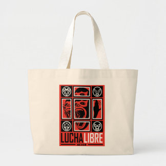LUCHALIBRE MEXICO LARGE TOTE BAG