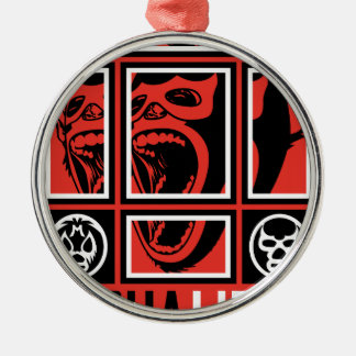 LUCHALIBRE MEXICO METAL ORNAMENT