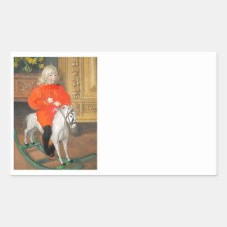 Lucia Day Rockinghorse Sticker
