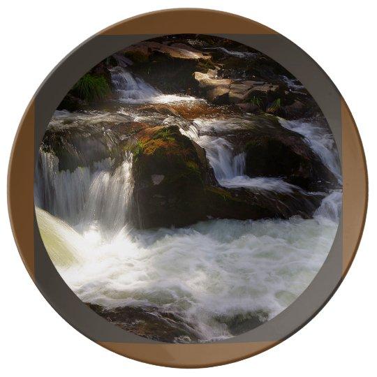 Lucia Falls, Battleground, Washington Porcelain Plate